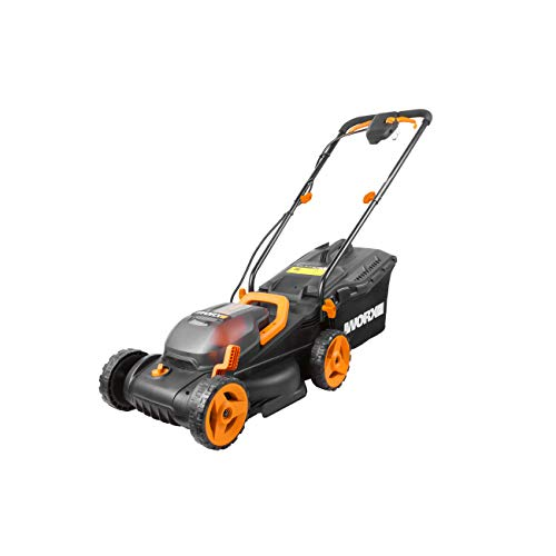The WORX 34cm WG779E.2 36V Cordless Lawn Mower is a compact smaller mower that's perfect for smaller lawns and getting into tight spaces. Despite being on the smaller side, the WG779E.2 is full of power, using 2 x 20V 2Ah batteries simultaneously which effectivly gives you 40v and 4Ah capacity.