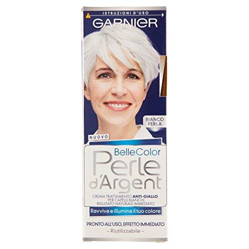 Garnier Belle Color Perle d'Argent Crema Trattamento Anti-Giallo, Bianco Perla