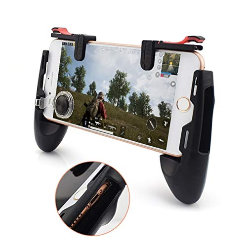 Game Controlling Smart Joystick Mobile Phone Gaming Controller Handle for Pubg, Call of Duty and Other Games for All Smartphones by Eazories