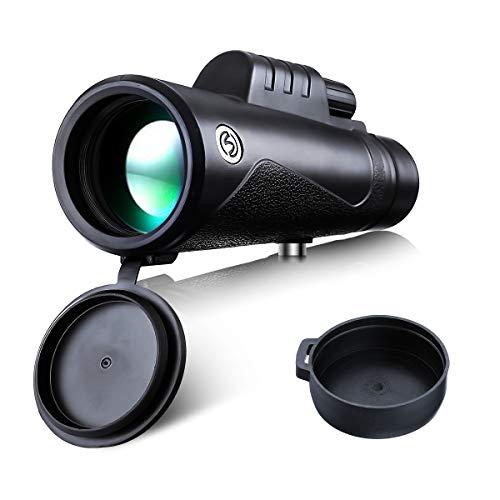 Monoculare 12 x 50, SGODDE Ad Alte Prestazioni HD Visione Notturna a Bassa Luminosità Impermeabile...