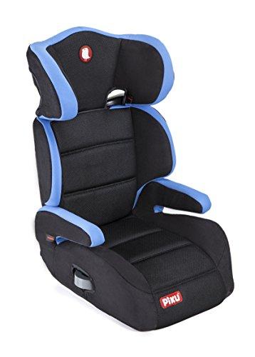 Piku 6227 - Seggiolino Auto, Gruppo 2/3 (15-36 kg), per Bambini da 3 a 12 Anni, Colore Blu/nero, senza ISOFIX