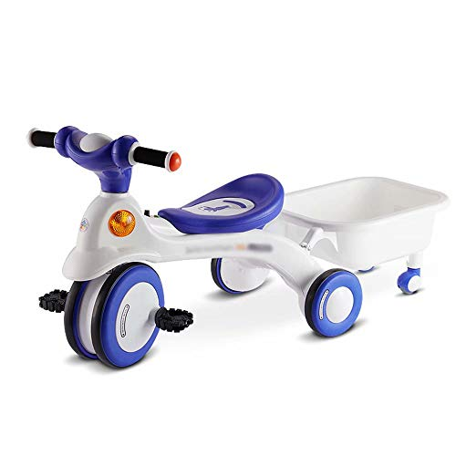 Baby Balance Bike Car Ride su Toy per 1-3 Anni Walker Ages 12-36 Mesi Durable Toddler Triciclo...