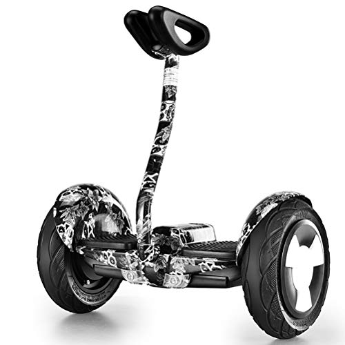 DOS Hoverboard 10' Smart Self Balance Scooter con Bluetooth, 2 * 350W Motore Skateboard con LED,...