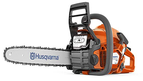 Husqvarna 135 Petrol Chainsaw is definitely not the most expensive machine out there, but it gets the job done. A smart start feature makes for onetime starting, while the chainsaw weighs just 4.4kgs which is lightweight enough to work with without experiencing too much exhaustion. This model features ergonomic handles and safety features such as a chain break which is obviously a must and its super easy to adjust the chain tension. Admittedly, the price is more in the premium range but the thing you can trust is the reputation behind the brand. You can be sure that you are purchasing a high-quality model that will offer you years of service. Overall is an excellent small multipurpose model which is excellent for logging to feed your log burner or just general tree felling and pruning.