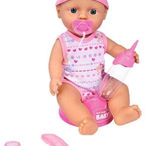Simba 105037800 New Born Baby - Muñeco de recién nacido , Modelos/colores Surtidos, 1 Unidad