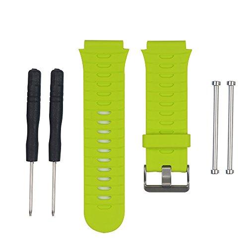 WEINISITE Cinturini per Garmin Forerunner 920XT (Lime verde)