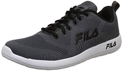Fila Men's Neston Dk Gry MRL/Blk Running Shoes-6 UK/India (40 EU) (11006557)