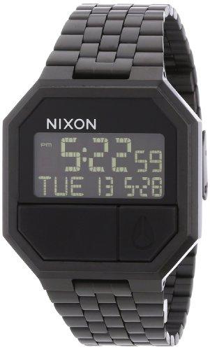 Nixon Orologio Unisex Digitale al Quarzo con Cinturino in Acciaio Inox – A158001-00
