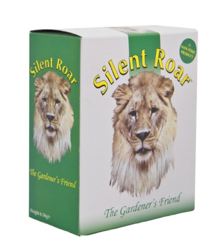 Silent Roar has mixed reviews, but as I use it regularly and find it effective for me I decided to feature it here.  So what is it?, it is actually fertiliser pellets, which have been soaked in the real essence of lion dung and then dried.