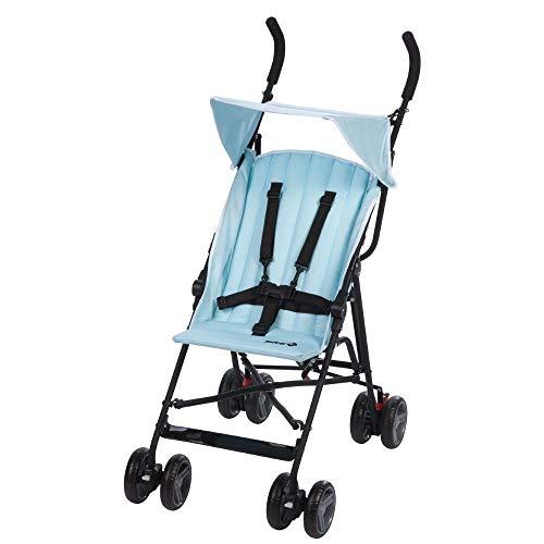 Safety 1st Flap Passeggino Ultraleggero, Per bambini fino ai 15 kg di peso, Nero (Black Chic)
