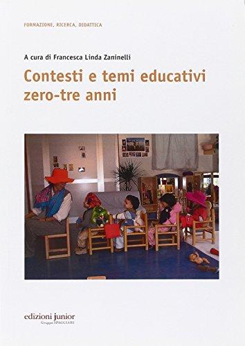 Contesti e temi educativi zero-tre anni