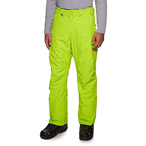 QUIKSILVER Estate, Snow Pant Uomo, Lime Green, M