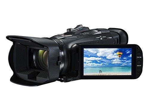 "Canon LEGRIA HF G40 - Videocámara (pantalla de 3,5"", zoom óptico de 20x, estabilizador óptico, Full HD, WiFi), negro"