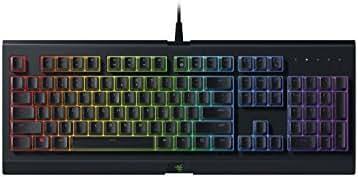 Razer Cynosa Chroma - Gaming-Tastatur mit Razer Chroma Beleuchtung (Gaming-Tasten mit weich gefedertem Touch, Anti-Ghosting & 10-Tasten-Rollover)