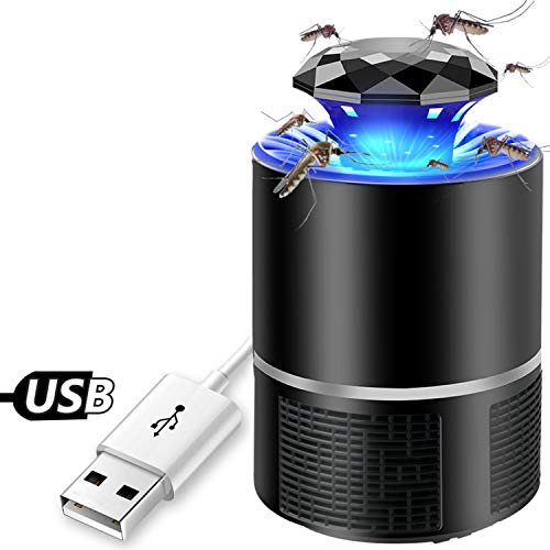 Ysmart Lampada Anti Zanzare,Insetti Volanti Killers USB Lampada Repellente LED Elettronico Mosquito...