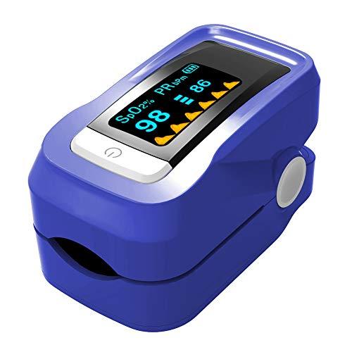 Pulsiossimetro Portatile professionale per uso domestico Monitor di saturazione di ossigeno nel...