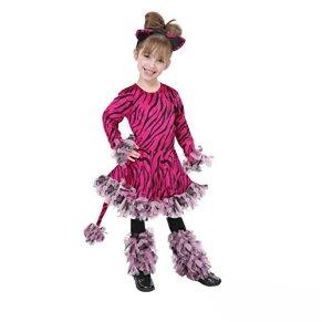 MORPH- Tiger Disfraz, Color Rosa, Small (OMPAL4690S)