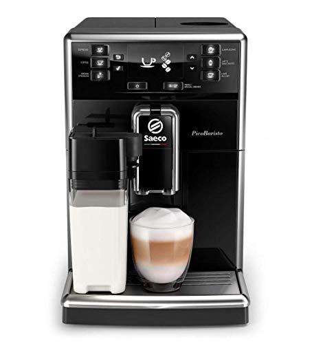 Saeco PicoBaristo SM5460/10 Macchina da Caffè Automatica, con Caffè Americano, 10 Bevande, con...