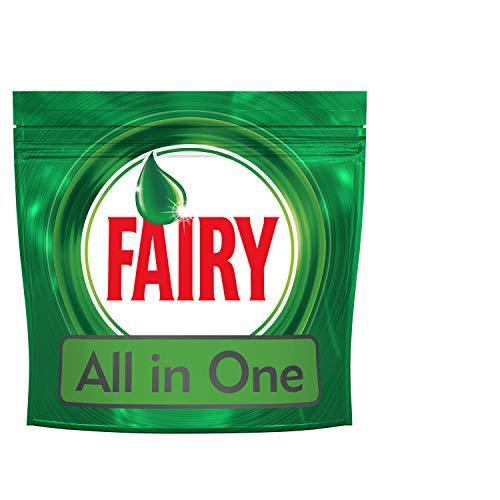 Fairy Original 60 Caps Regular Detersivo per Lavastoviglie, Maxi Formato da 60 Pastiglie