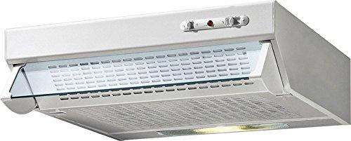 De Longhi DCH 6 W EC - Cappa da cucina sottopensile, Tipologia Aspirante/Filtrante, 60x40 cm