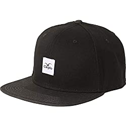 "Cleptomanicx Herren Baseball Cap Snapback Badger 3"" Black"