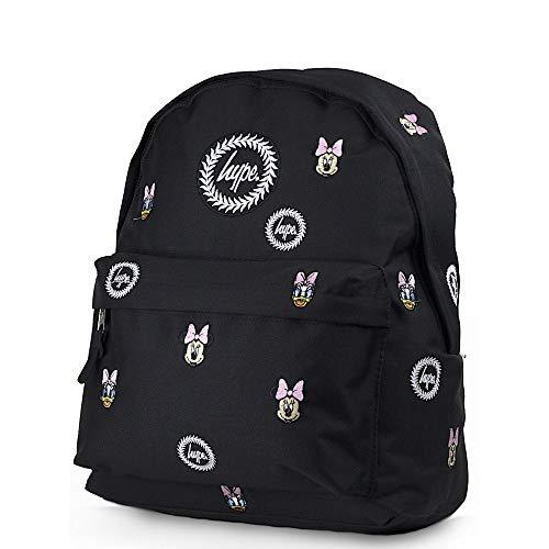 HYPE Disney Faces Backpack Black Schoolbag DIS18121 Hype bags
