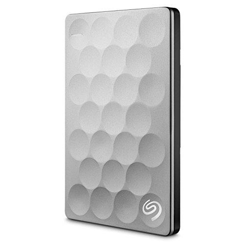 Seagate Backup Plus Ultra Slim 2TB, platino, hard-disk esterno portatile (STEH2000200)