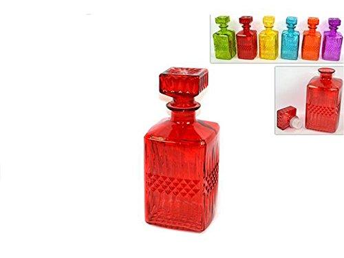 Credenza Per Liquori : Vetrineinrete® bottiglia per whisky in vetro colorato cognac liquore
