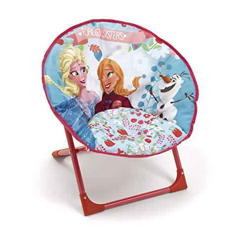 Arditex Lune, Poltrona in poliestere 50x 50x 50cm Moon chair Disney Frozen blu