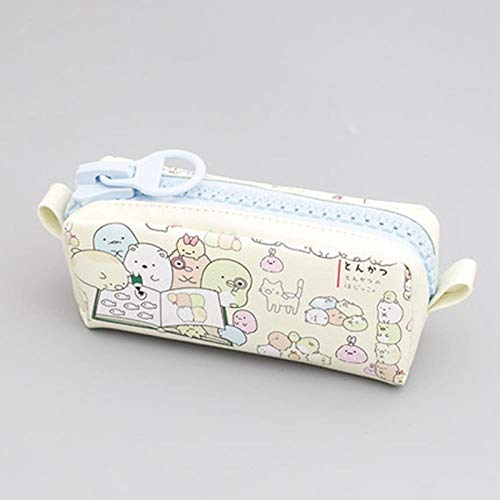 Astucci Kawaii Big Zipper Pencil Case for School Cancelleria Forniture Cute Cartoon Animal Grande...