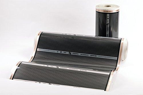 Heating floor 20m2 kit de lectrique chauffage au sol film chauffant sous p - Chauffage au sol prix m2 ...