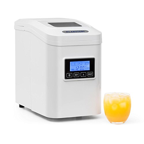 Klarstein Lannister • Macchina cubetti del ghiaccio • 10 kg/24 h • 3 dimensioni cubo •...