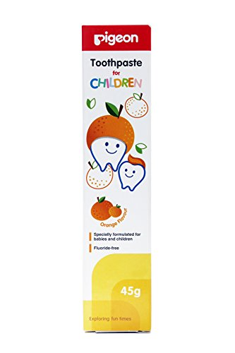Pigeon Children Toothpaste (Orange)