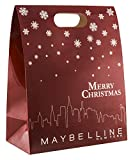 Maybelline New York calendario dell'Avvento, Do-It-Yourself, con 24 prodotti bellezza, sacchetti e adesivi da riempire e fai da te 2018