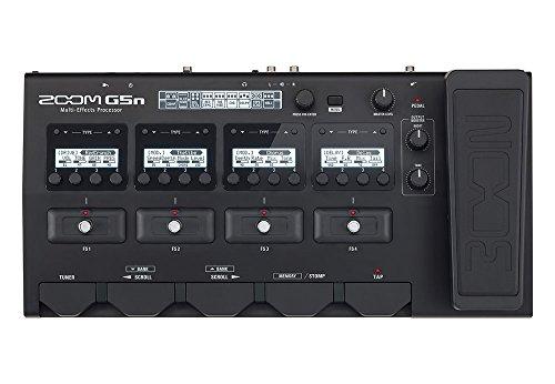 Zoom G5n Multi-Effects Guitar Processor (Black)