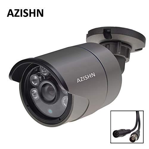 Hd 1080p Ahd Security Camera Sony Imx323 Sensor 2mp Sorveglianza Camera 6pcs Array Led Night Vision Telecamera Impermeabile Cctv 8 mm amico