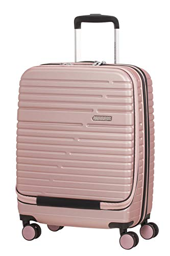 American Tourister Aero Racer, Valigetta per Spinner Piccolo, Frontloader, 55 cm, 38.5 L, Rose Pink...