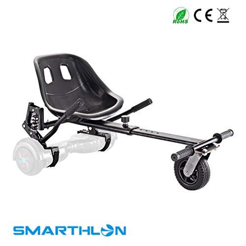 Smarthlon Hover Kart per Hoverboard Kart con Ammortizzatore Compatibile con Self Balancing Scooter...