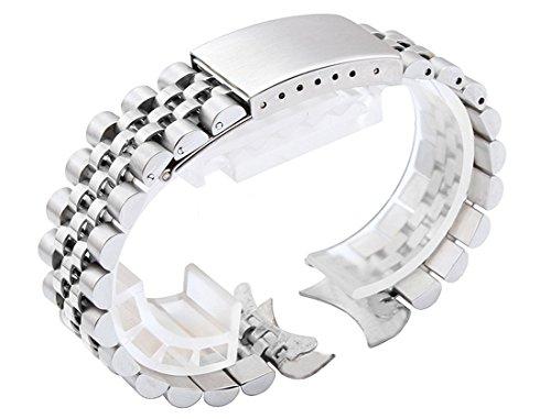 20mm in acciaio INOX massiccio Giubileo di ricambio per braccialetto 16200data Oyster