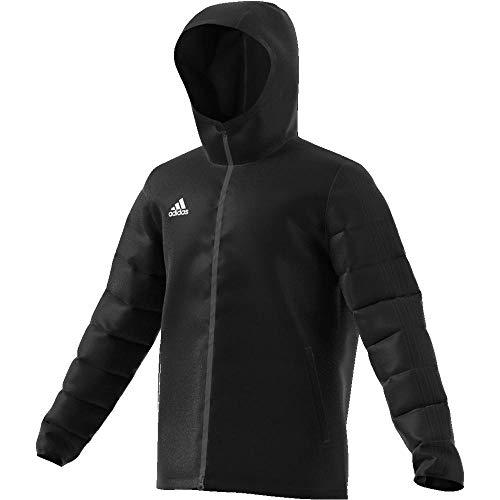 adidas Winter Jacket 18, Giacca Sportiva Uomo, Black/White, XL