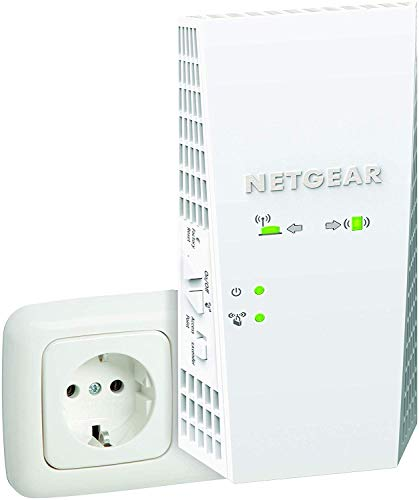 Netgear EX6250 Ripetitore Wifi Mesh AC1750, WiFi Extender e access point Dual band, Porta Lan,...