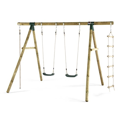 The best kids play swing set featuring superb construction and adjustable play features at a decent price.