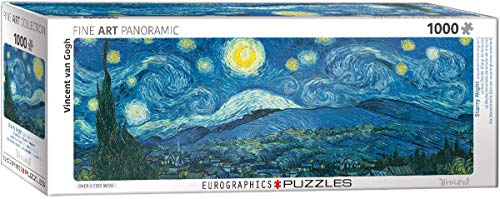 Eurographics 6010 – 5309 Starry Night Panorama Van Gogh Puzzle da Pezzi