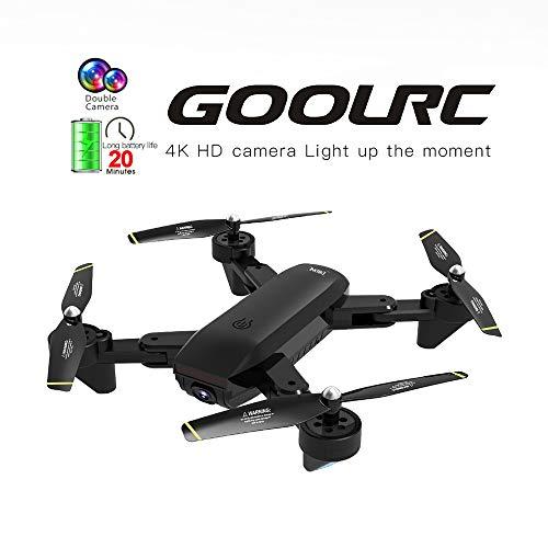 Mobiliarbus RC Quadcopter GoolRC SG700-D FPV RC Drone con Telecamera 4K HD grandangolare Flusso...