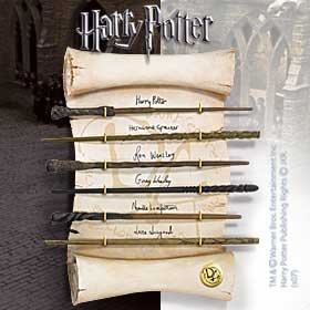 Noble Collection NN7728–Harry Potter Colección de varitas del Ejército de Dumbledorf