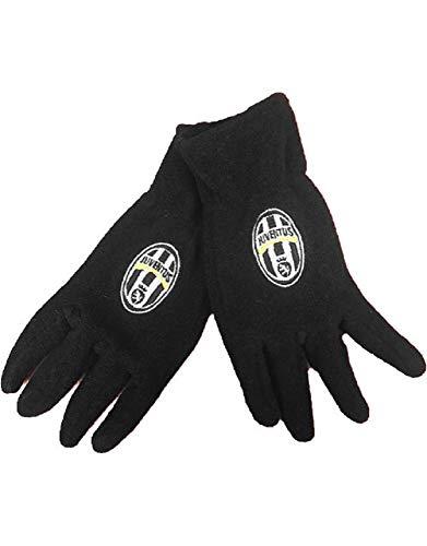Perseo Trade Guanti Juve in Pile Abbigliamento Ufficiale Calcio Juventus PS 28459-S/M