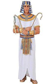 WIDMANN wdm90031?Disfraz para adultos Faraone egipcio, blanco, S