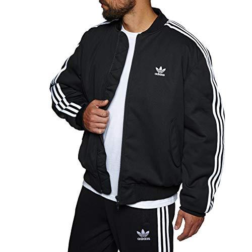 Adidas MA1 Padded, Giacca Bomber, Nero, XL
