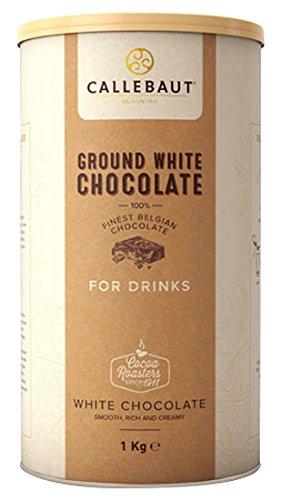 Callebaut - Ground White Chocolate Trinkschokolade Weiss - 1kg