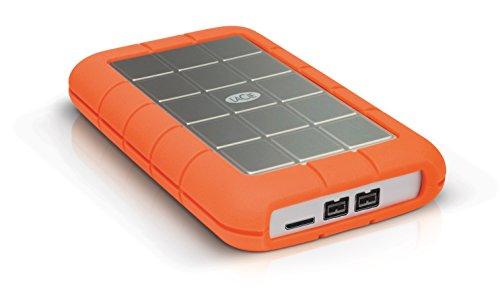 LaCie 301558 Rugged MINI Hard disk Esterno, Arancione/Grigio, 500 GB